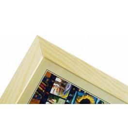 CODEX SLS rám 21x30 dřevo,...